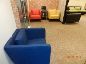 Cosy Waiting Lounge
